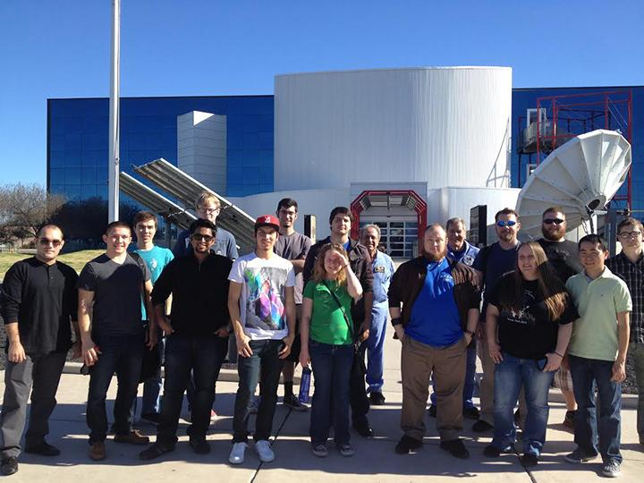 STEM Club visits the Challenger Center