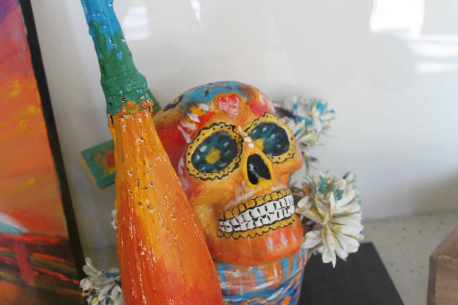 Fine Arts Department sponsors sugar skulls ceramics workshop