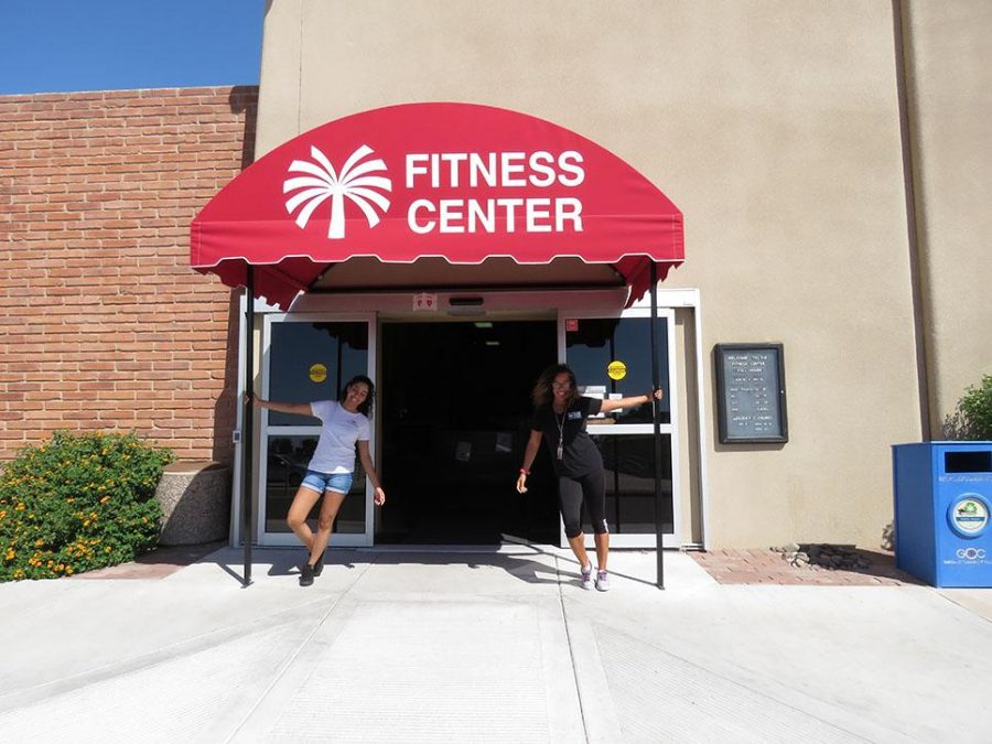 The Fitness Center is staffed with friendly people ready to help students reach their goals.