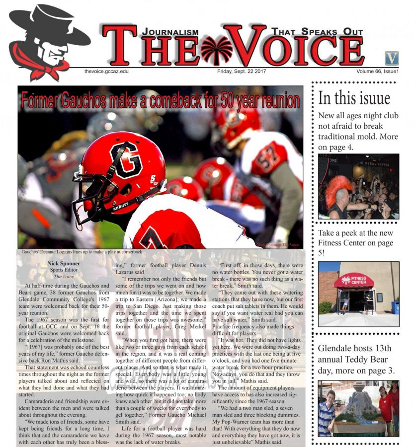 The Voice Volume 66 Issue 1
