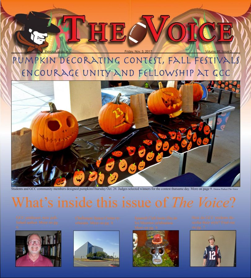 The Voice Volume 66 Issue 3