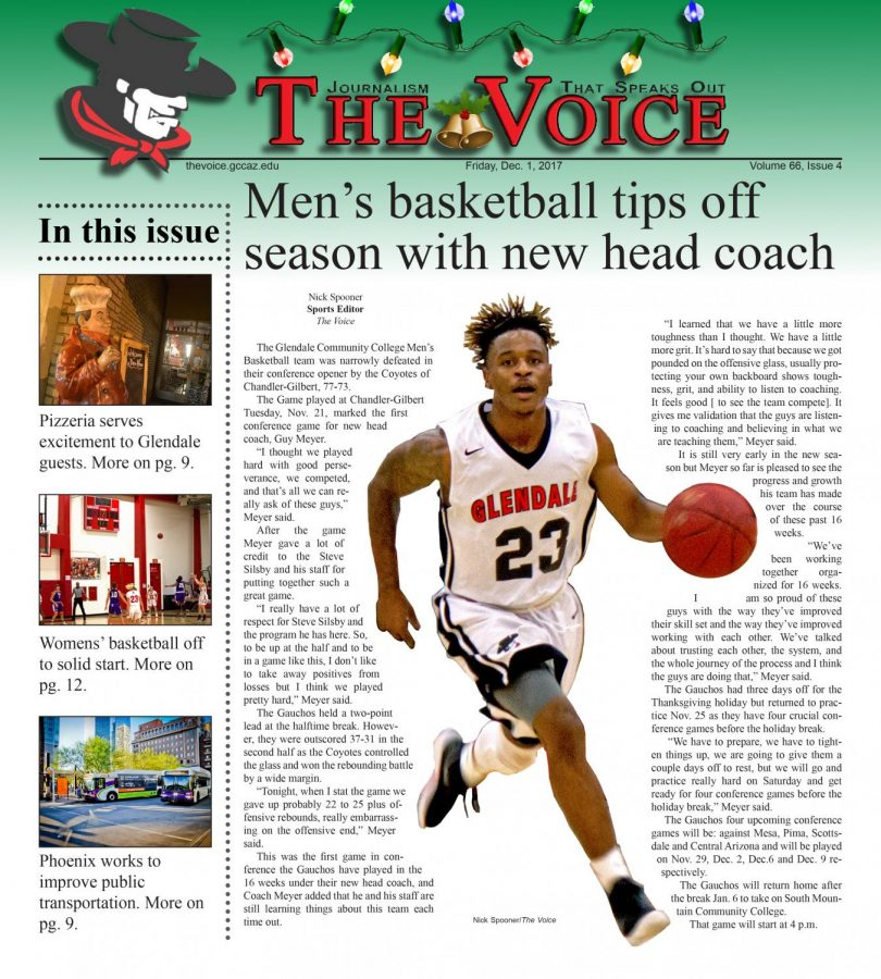 The Voice Volume 66 Issue 4