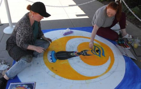 Chalk Art Festival brought out the festival in art