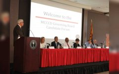 Photo Gallery: MCCCD governing board candidates speak at forum Nov. 1st, 2018
