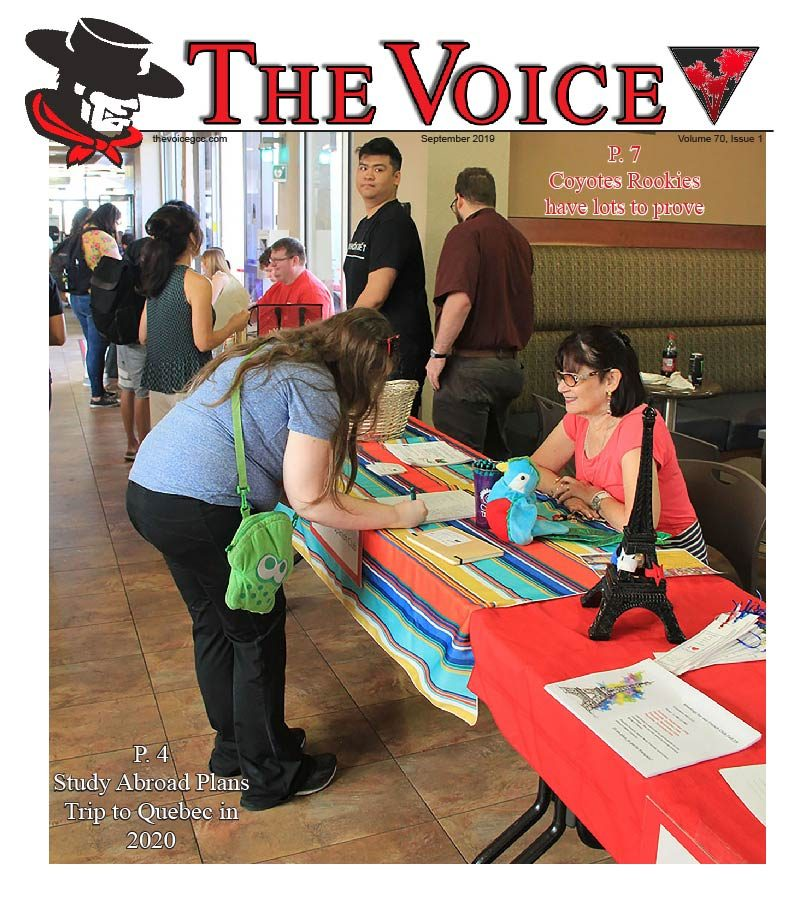 The Voice Volume 70 Issue 1
