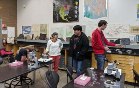Geology Club promotes interest in physical sciences