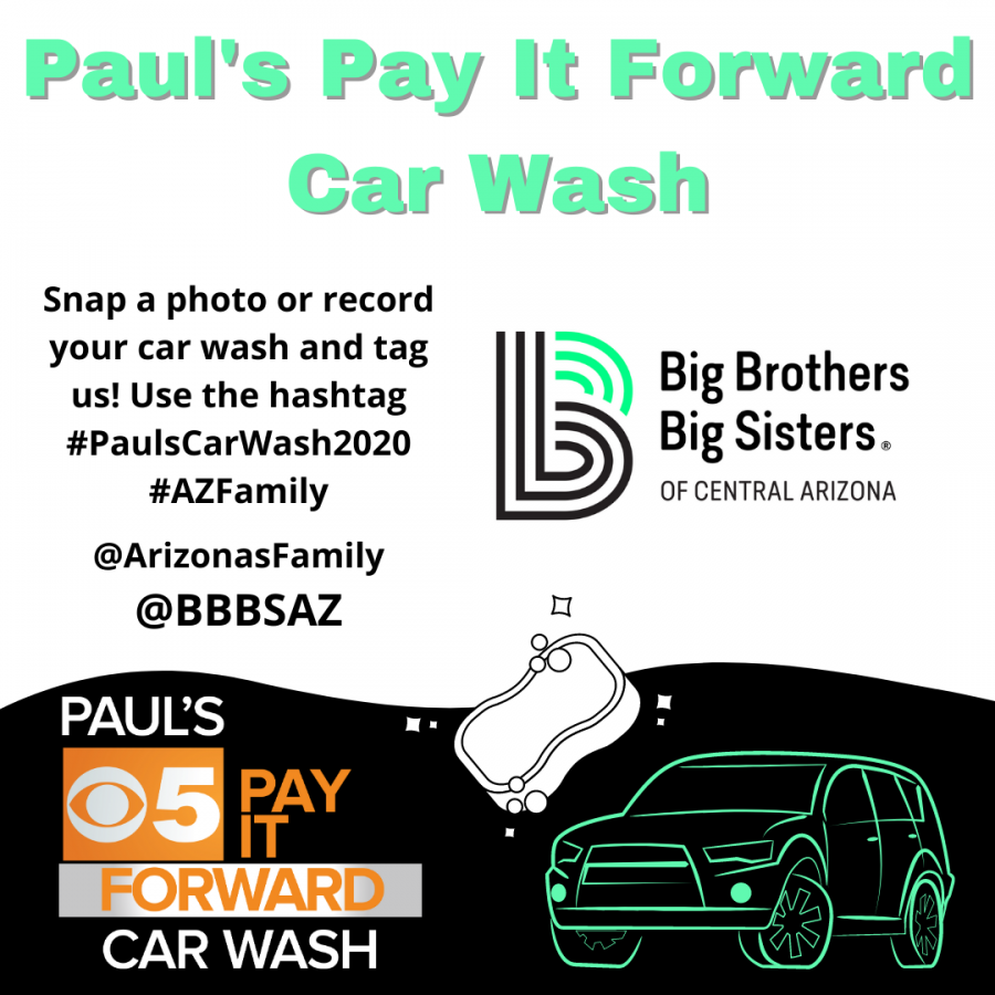 Brothers Big Sisters of Central Arizona to host 13th annual car wash charity event